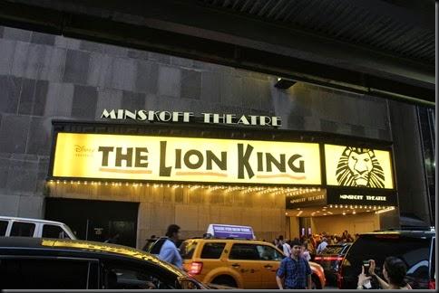 The Lion King: Shock and Awe