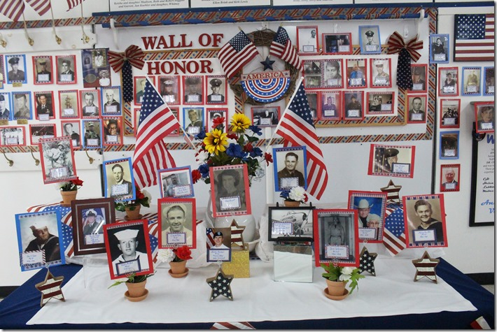 IMG_6613 wall of honor and table