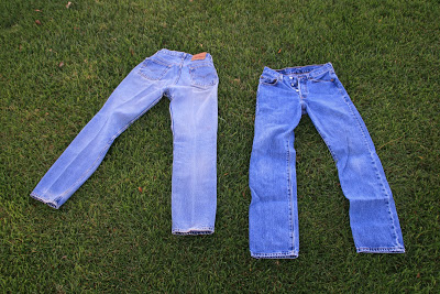 Whatever Happened to Real Blue Jeans?