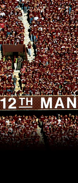 The Real 12th Man Wears Maroon and White